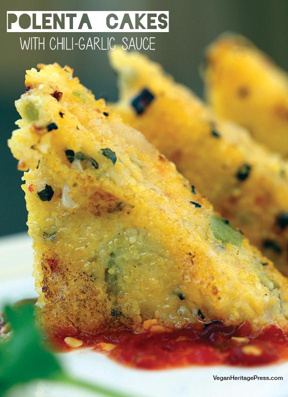 How to make vegan polenta squares
